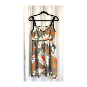 Floral Anthropologie Dress - Size 6
